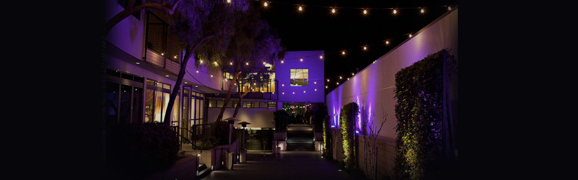 [seven-degrees] at night - Event venue in Laguna Beach