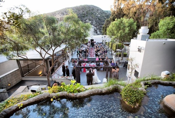 A wedding at Seven-Degrees Laguna Beach, an award-winning event venue in Orange County