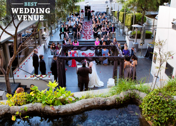 Voted one of the best Wedding venues in Orange County on OC Hotlist 2016