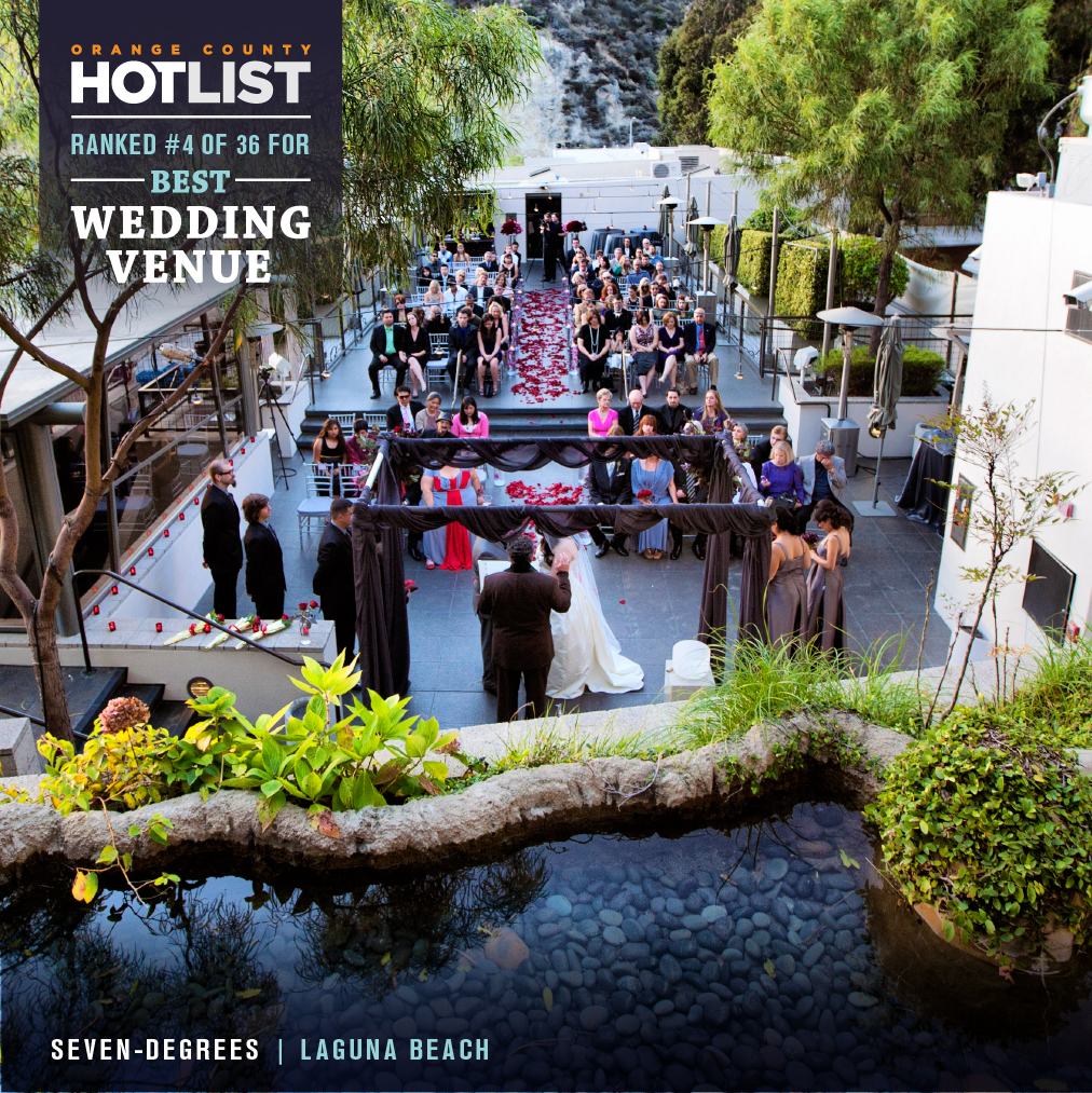 seven degrees voted in top 5 best wedding venues in orange county