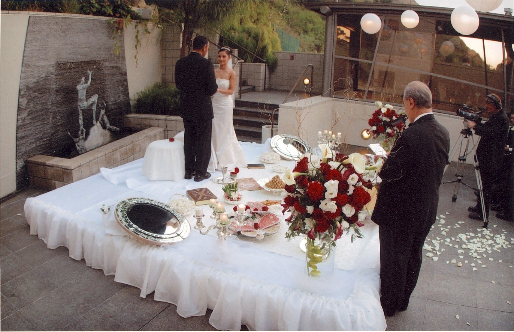 Video Testimony of Lieutenant Joe and Tina Torres Wedding at Seven-Degrees Laguna Beach