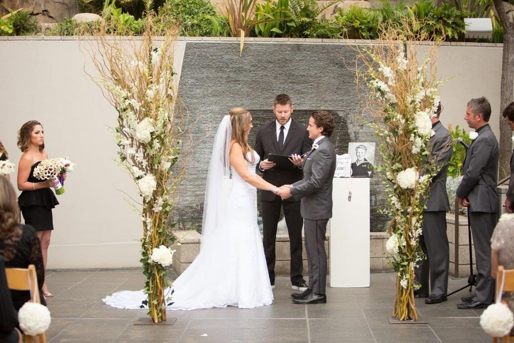 Viennia and Beau relive their wedding at Seven-Degrees on their anniversary