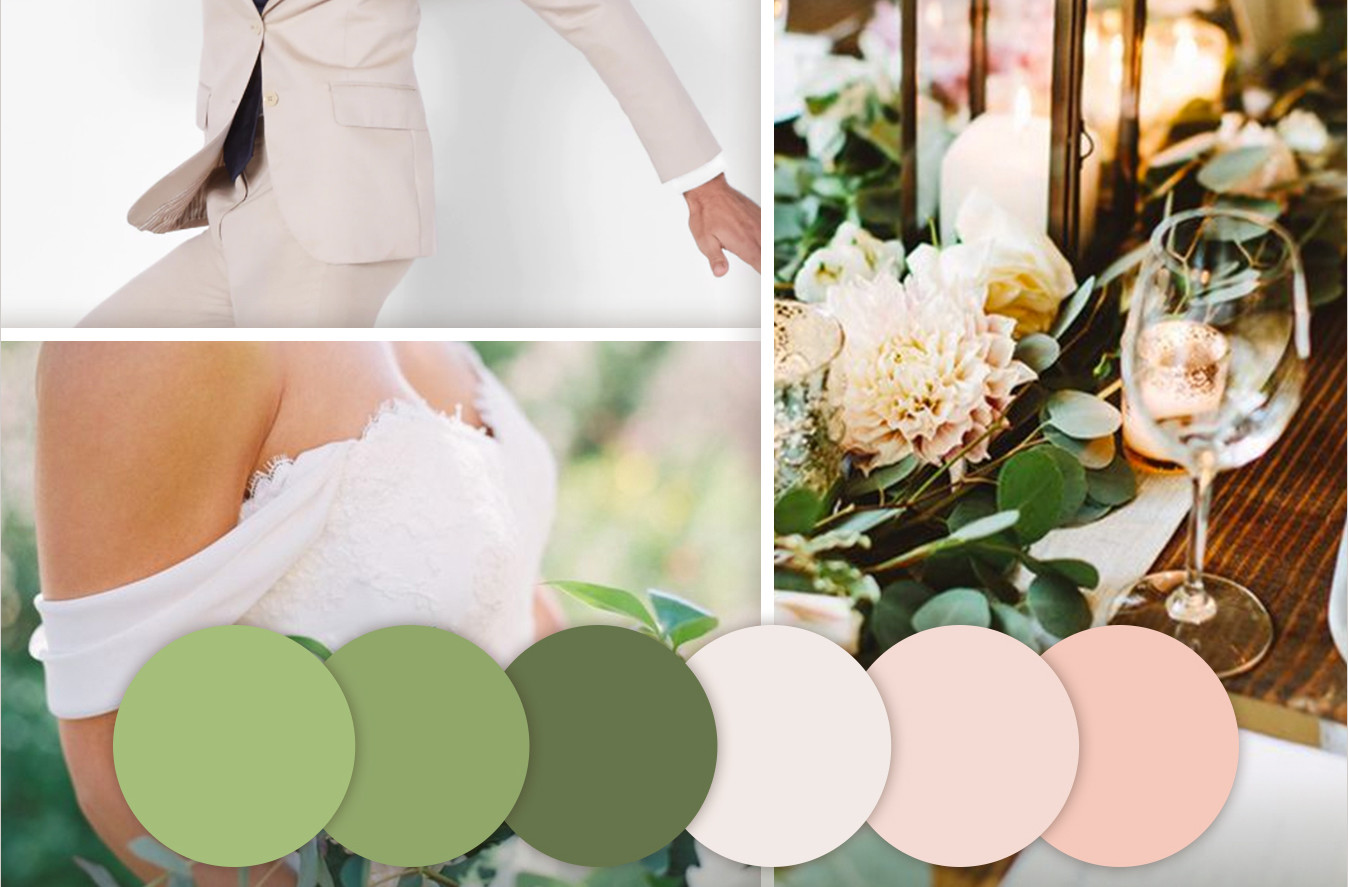 Wedding color trends for 2017! Seven-Degrees in Laguna Beach and the Black Tux